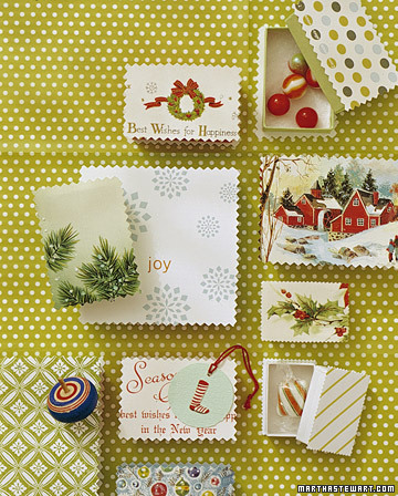 Holiday Card Gift Boxes