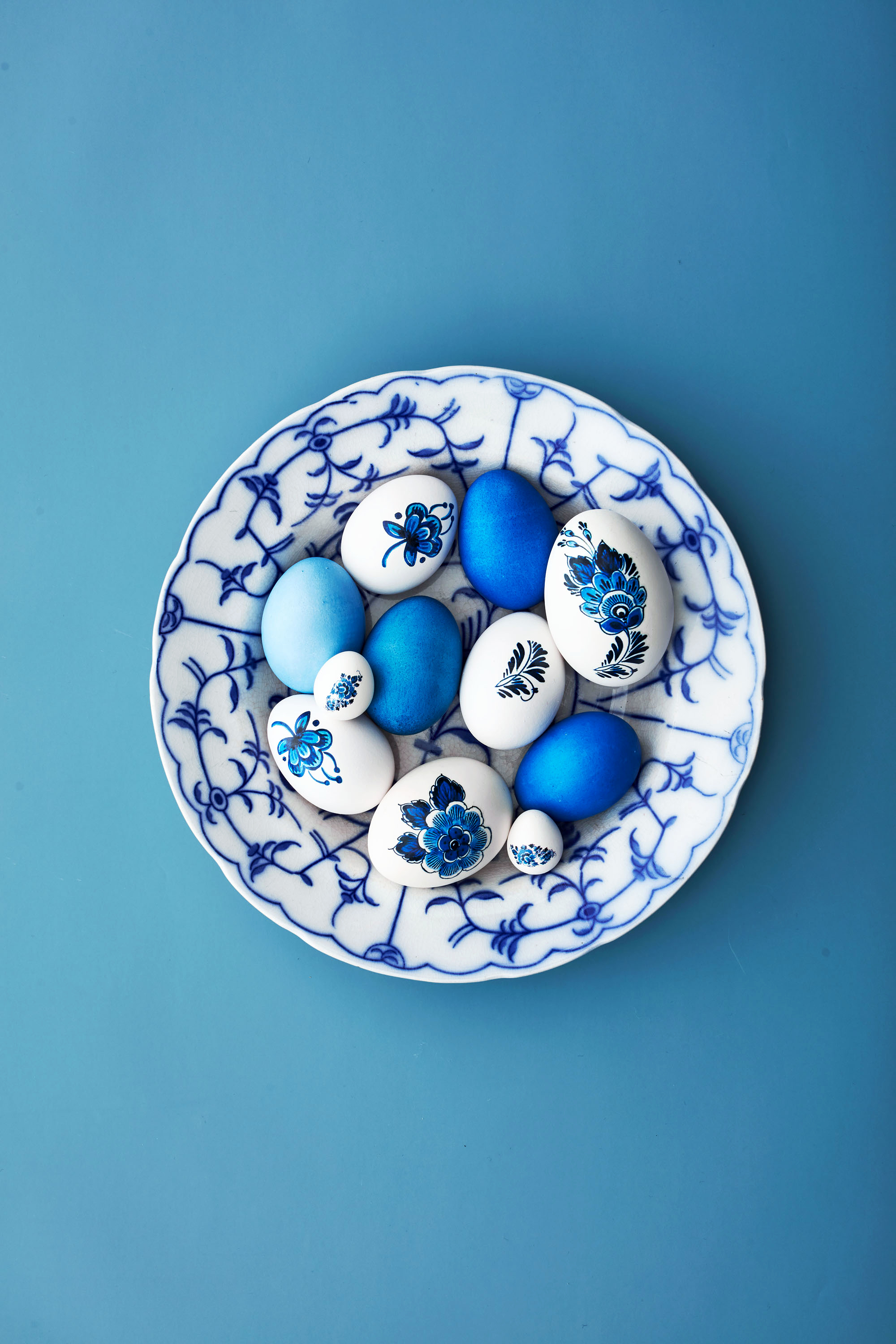 royal copenhagen easter eggs in bowl