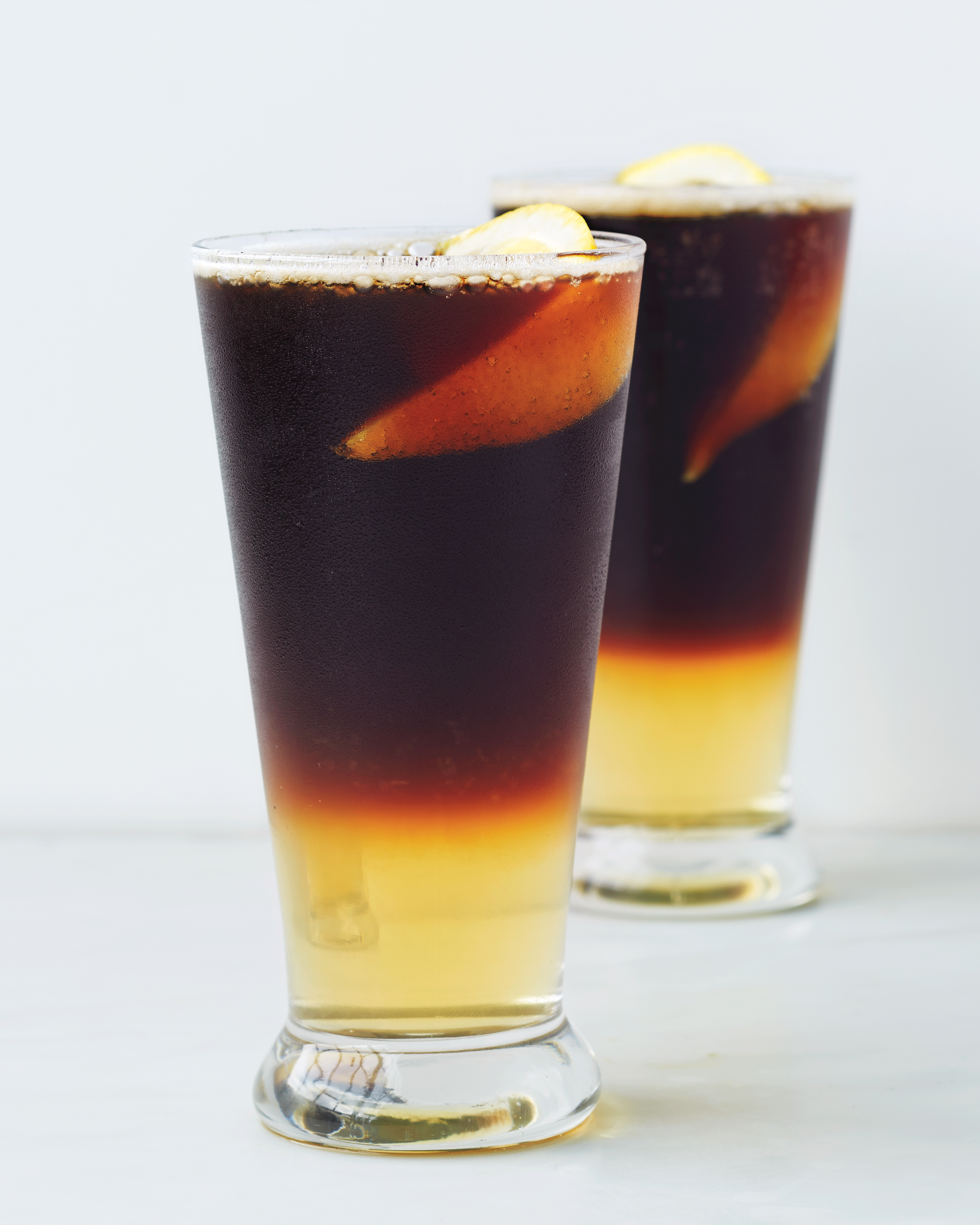 Sparkling Black and Tan
