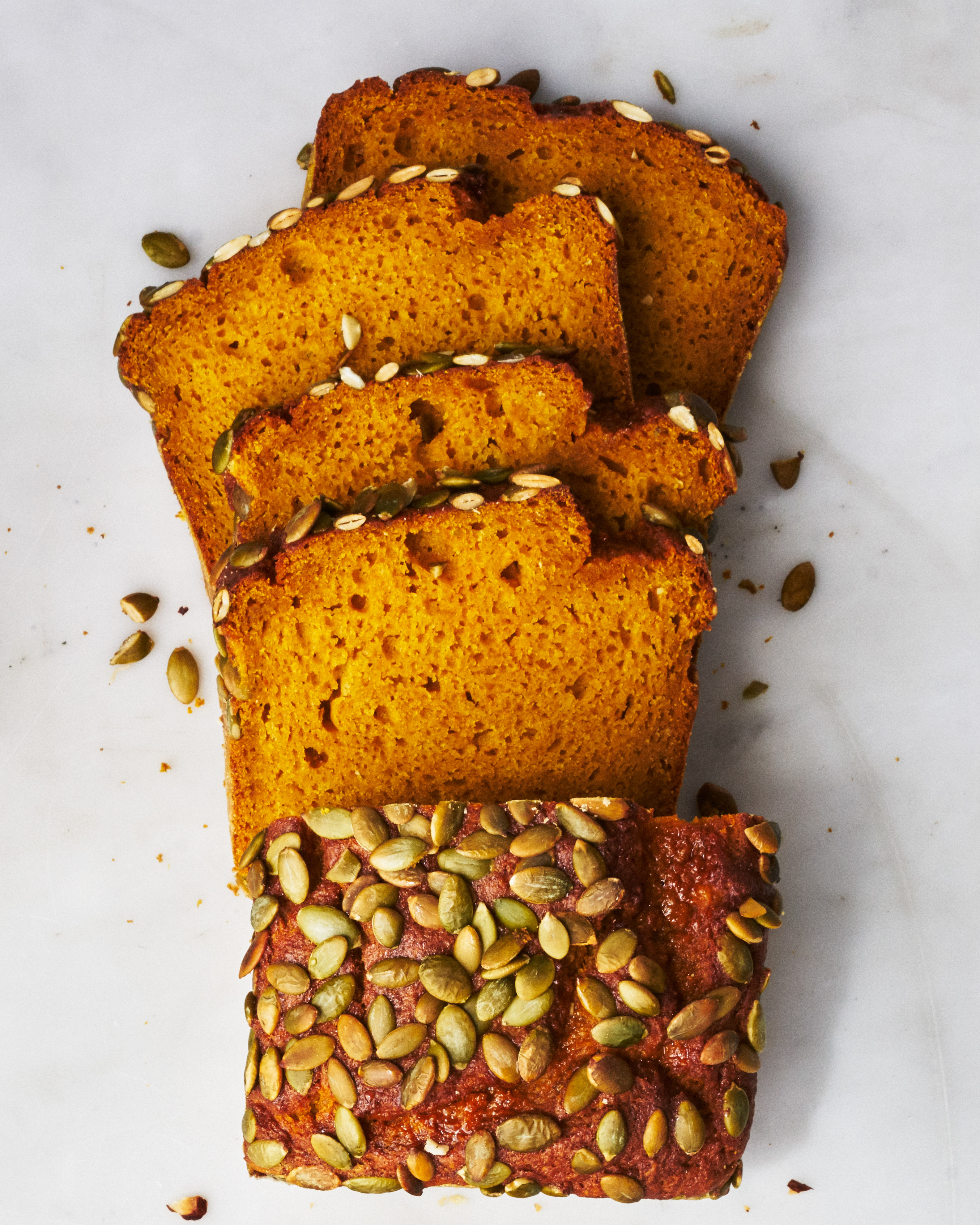 Pumpkin Bread with Pepitas