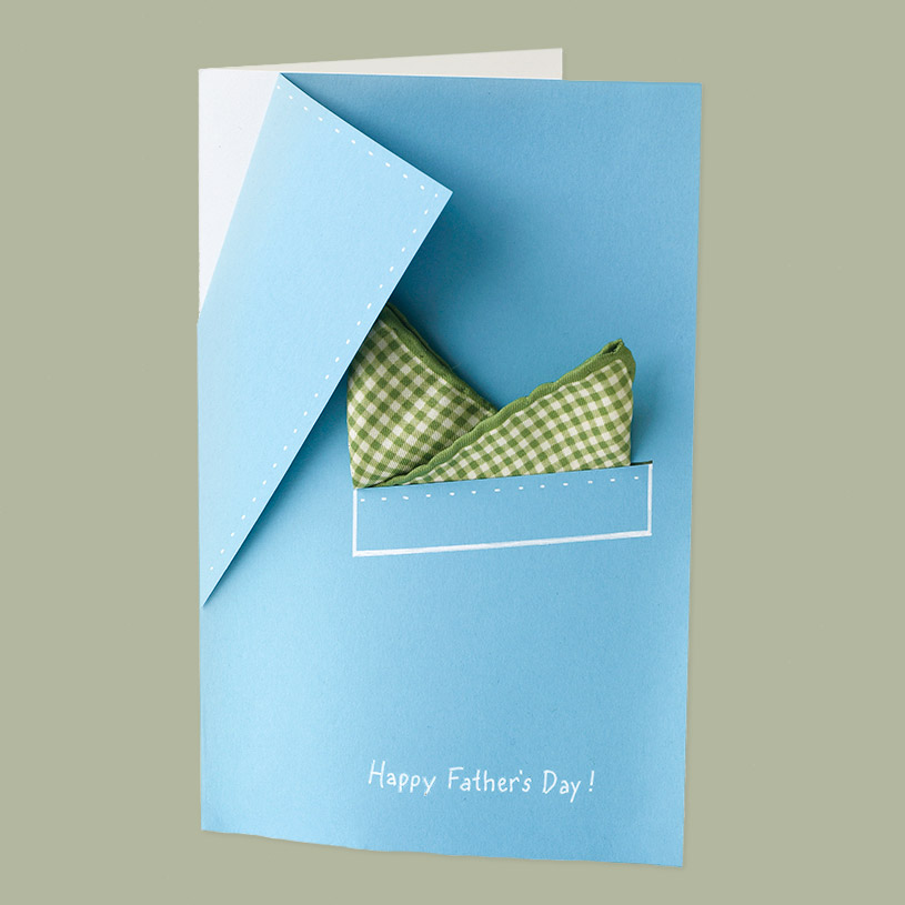 fathers day card suit