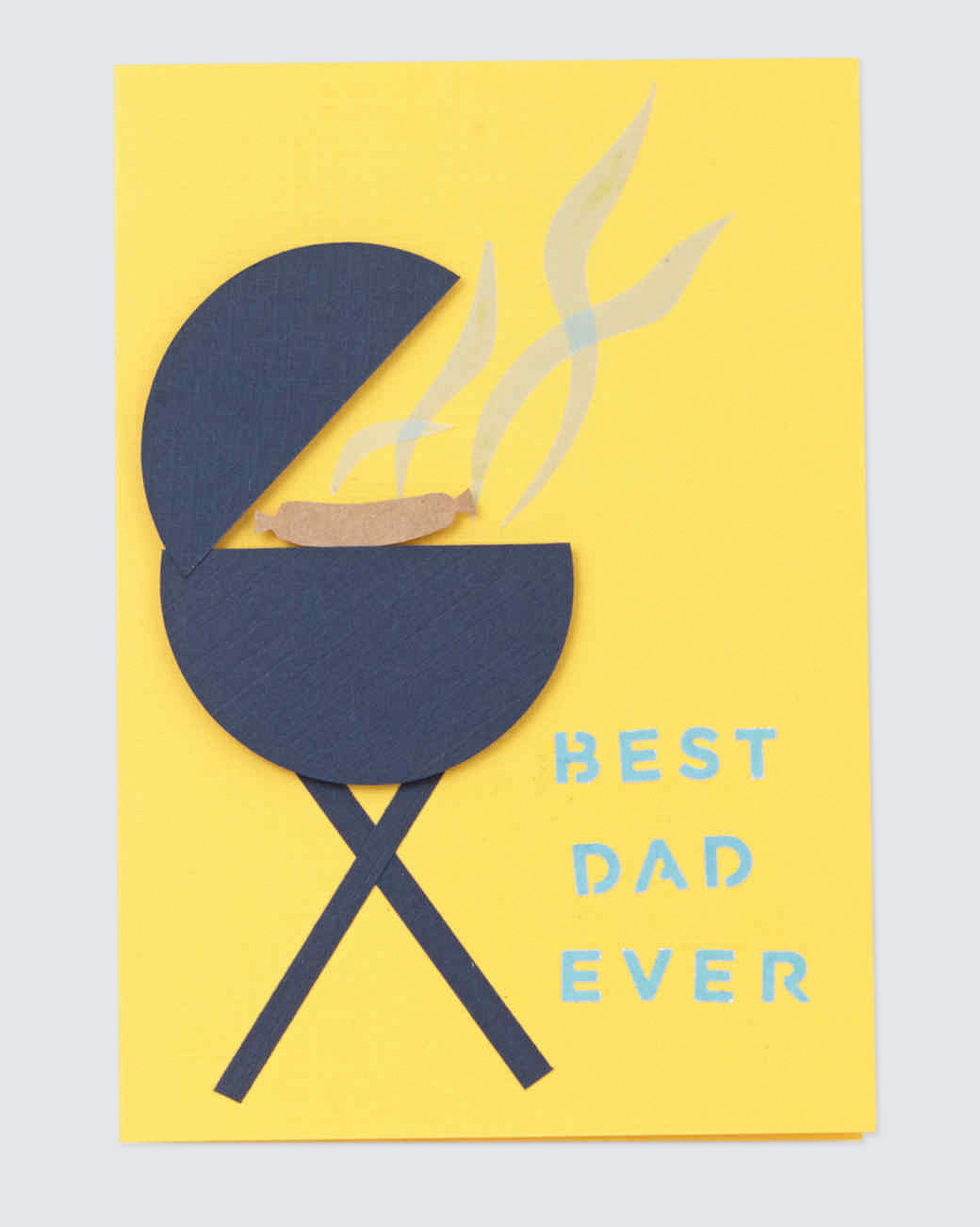 best dad ever grill card fathers day