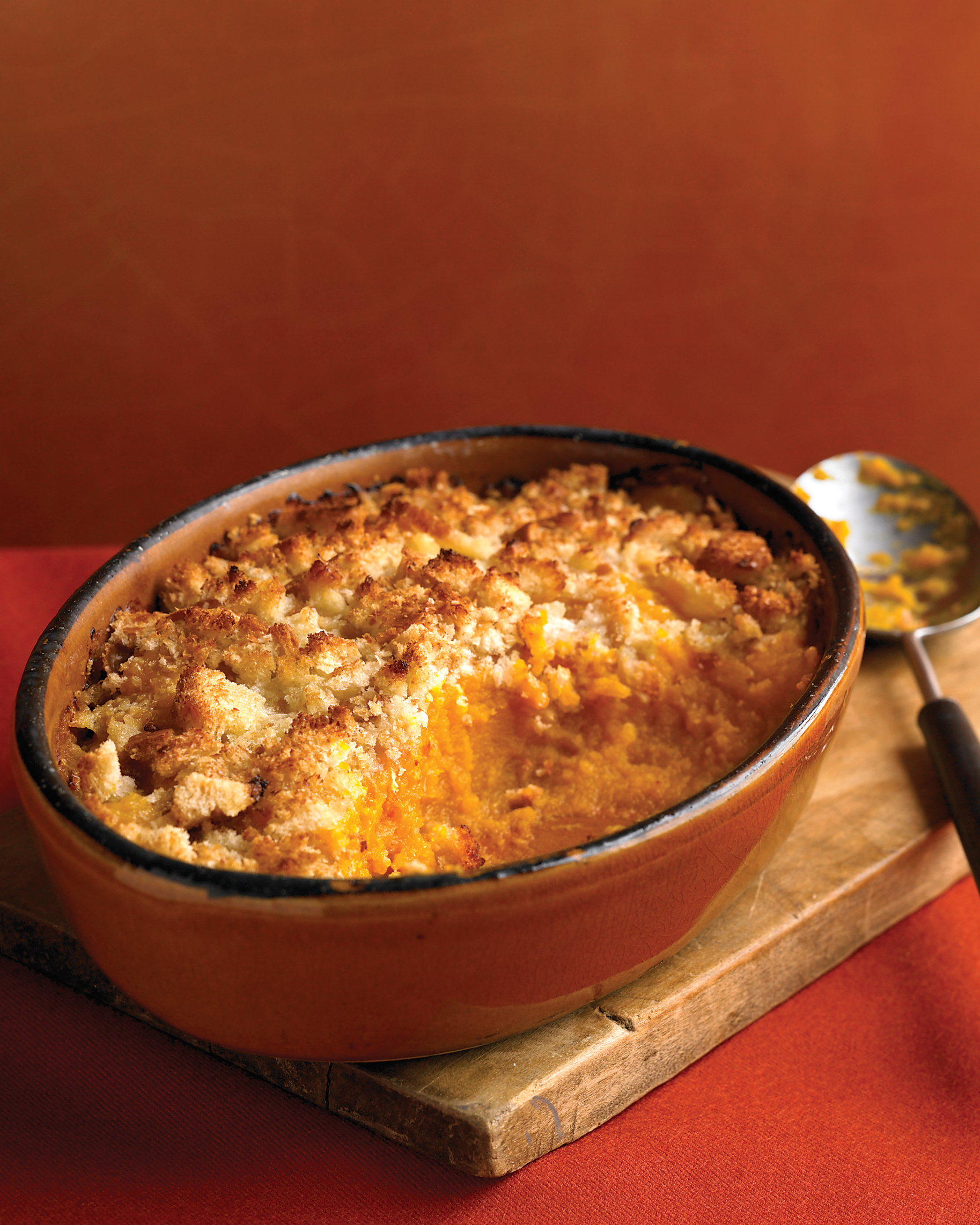 Pumpkin and Pecorino Gratin