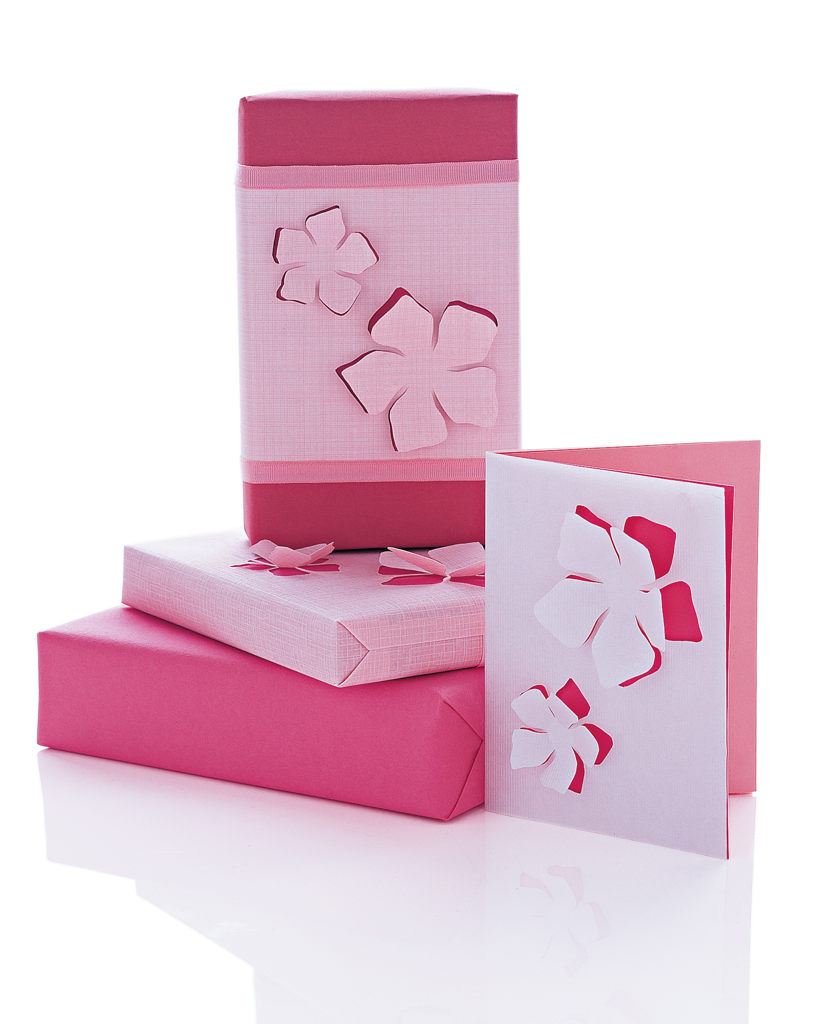 Floral Pop-Out Cards