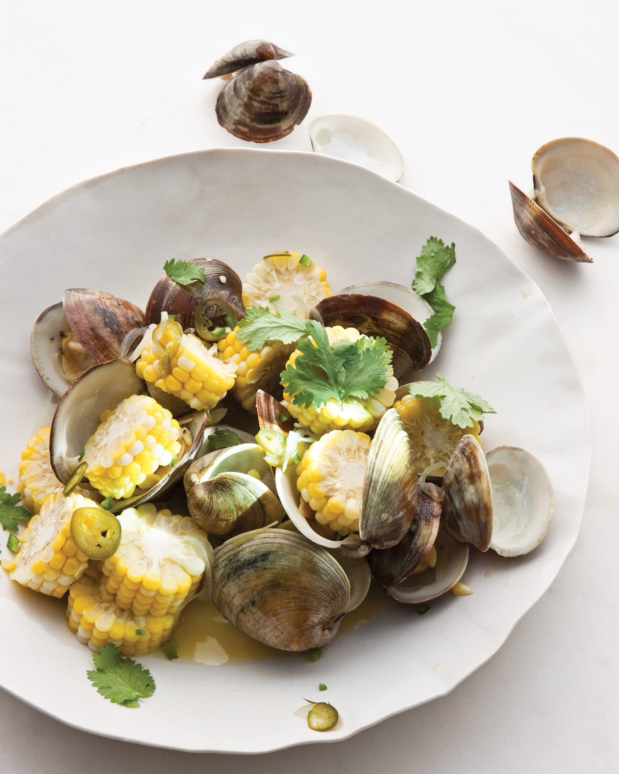 Steamed Clams and Corn Recipe