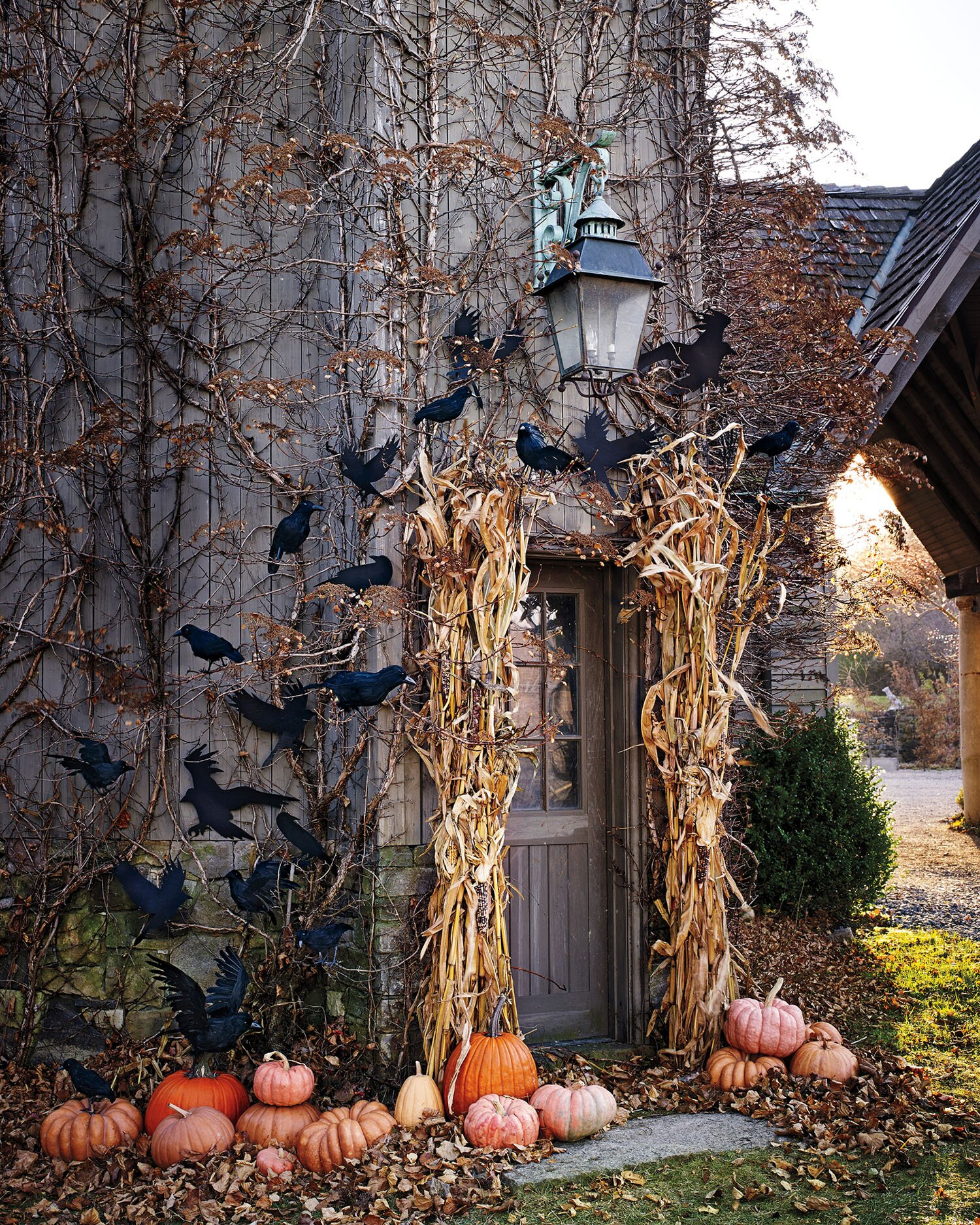 Large Hanging Outdoor Halloween Decorations.25 Of Our Best Outdoor Halloween Decorations Martha Stewart