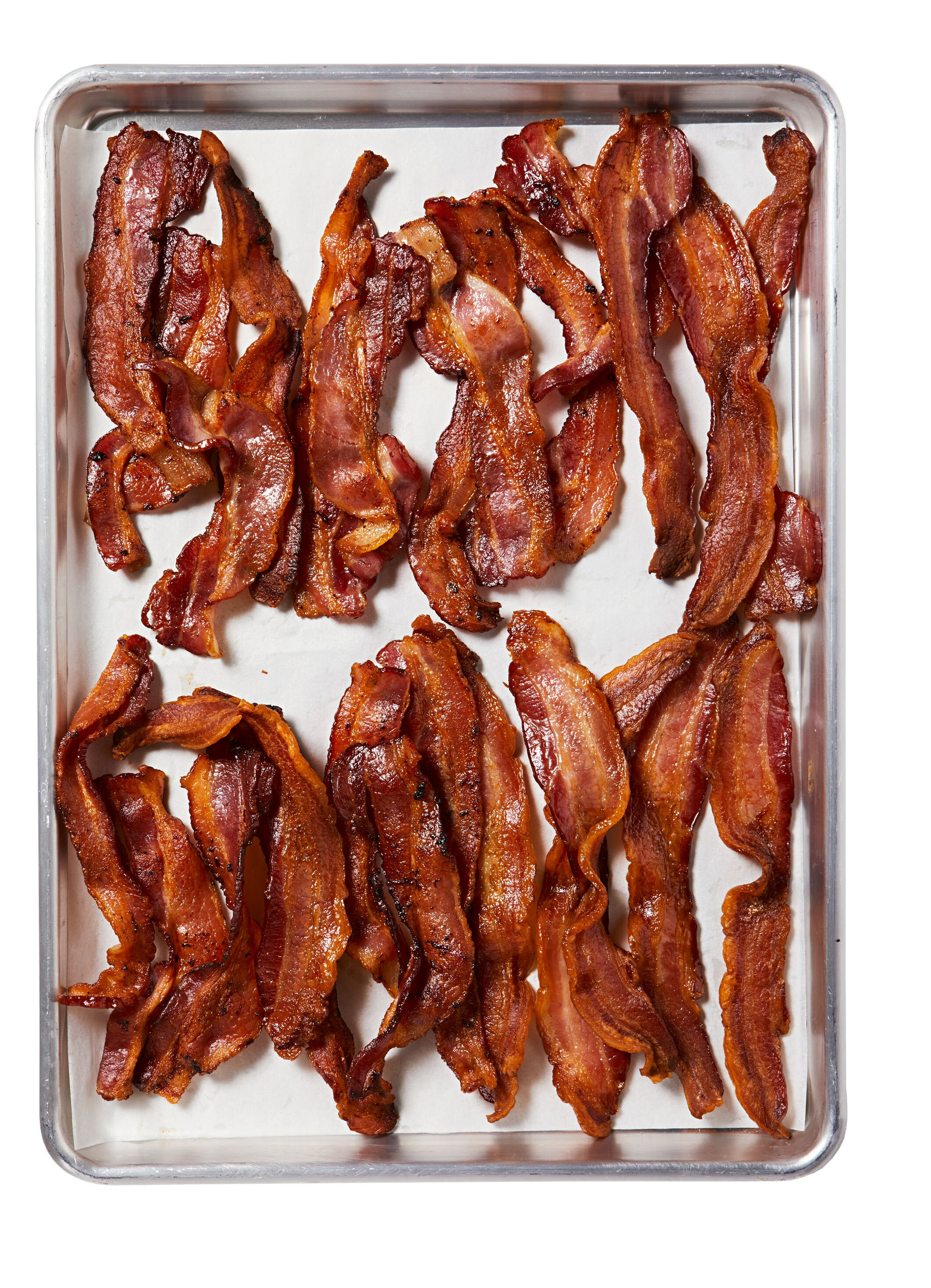 Less Mess Bacon How To Make Perfectly Crispy Bacon Without Tons Of Grease Spatter Martha Stewart
