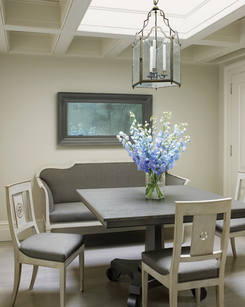 Gray Dining Room