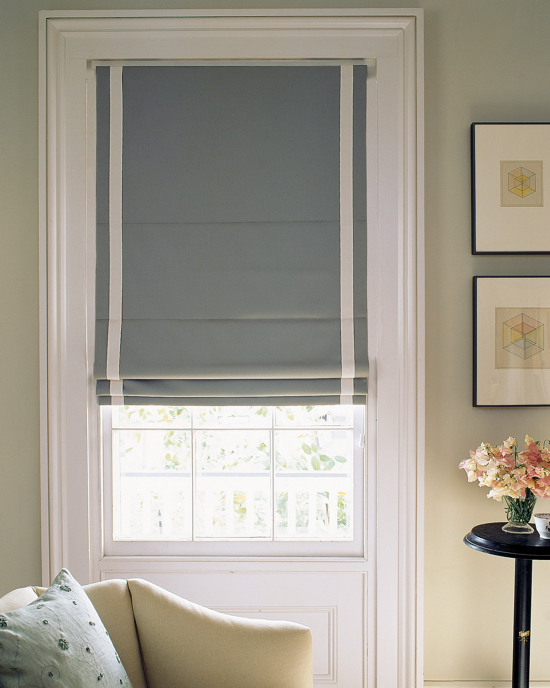 How To Make Roman Shades In Three Diffe Styles Martha