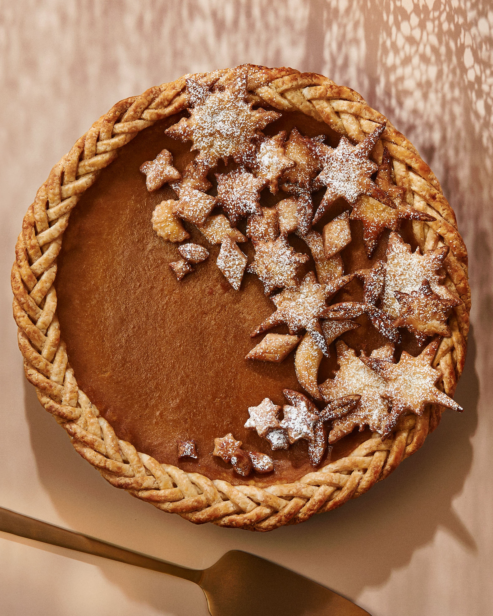 Brown-Sugar Butternut-Squash Pie