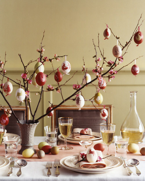 Egg-Tree Centerpiece