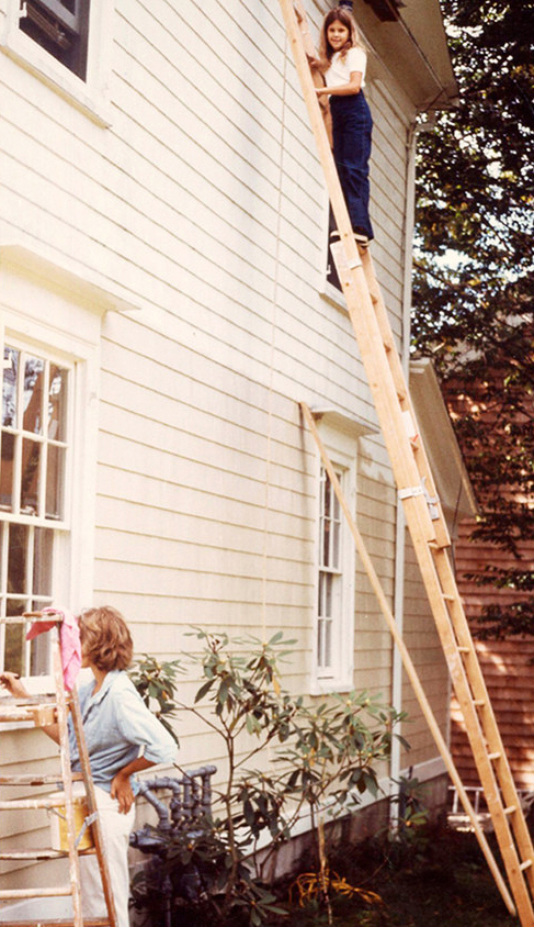 martha and daughter alexis painting turkey hill home