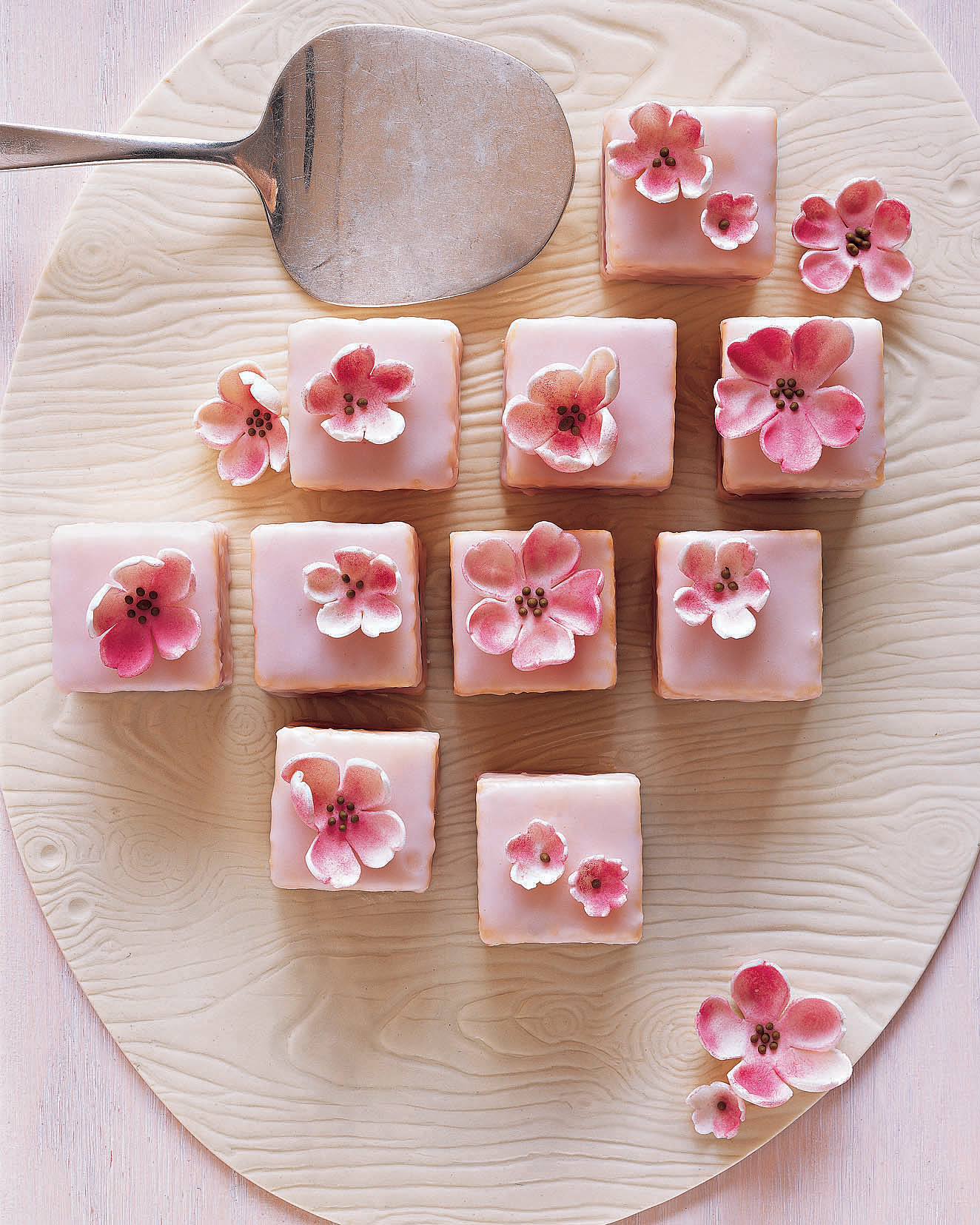Spring Shower Almond Petit Fours