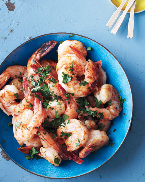 Smoky Herbed Shrimp