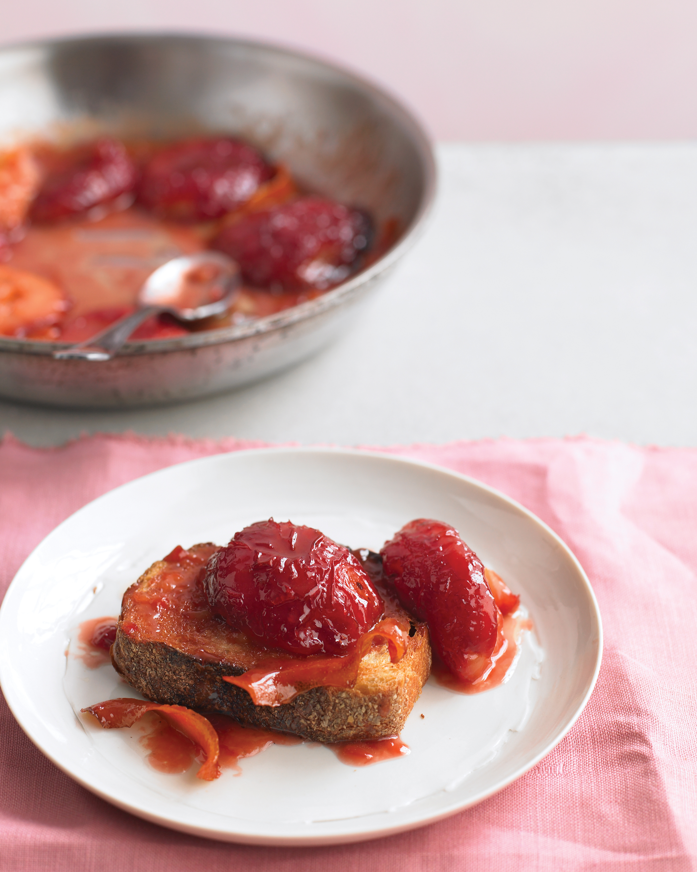 Sugar-Roasted Plums