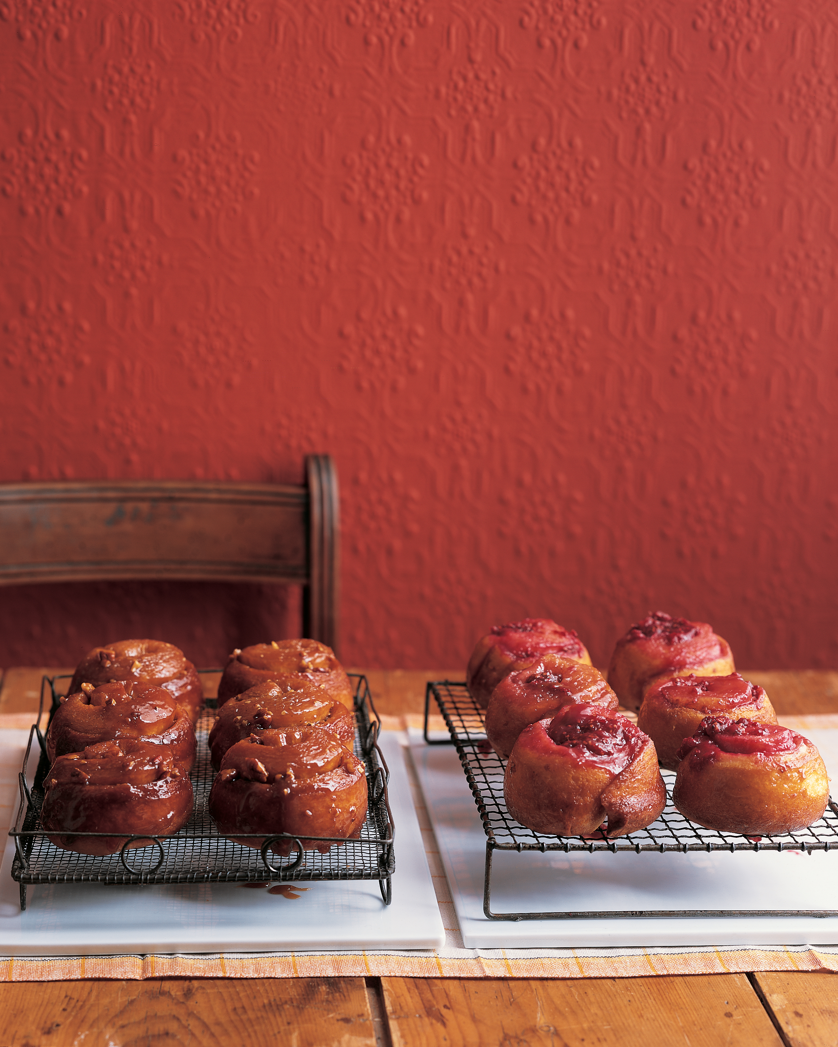 Sticky Buns with Various Fillings