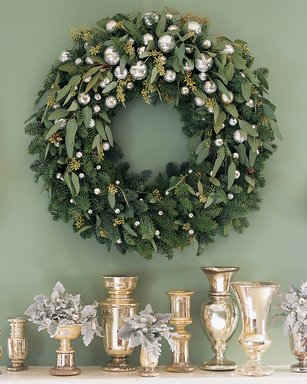 Hanging a Wreath