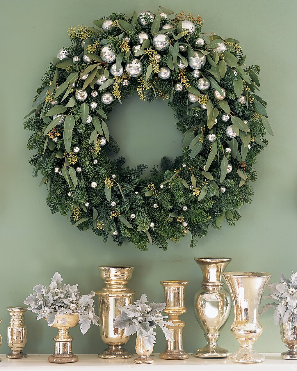 Non Christmas Winter Wreaths.Holiday Greenery 101 Martha Stewart