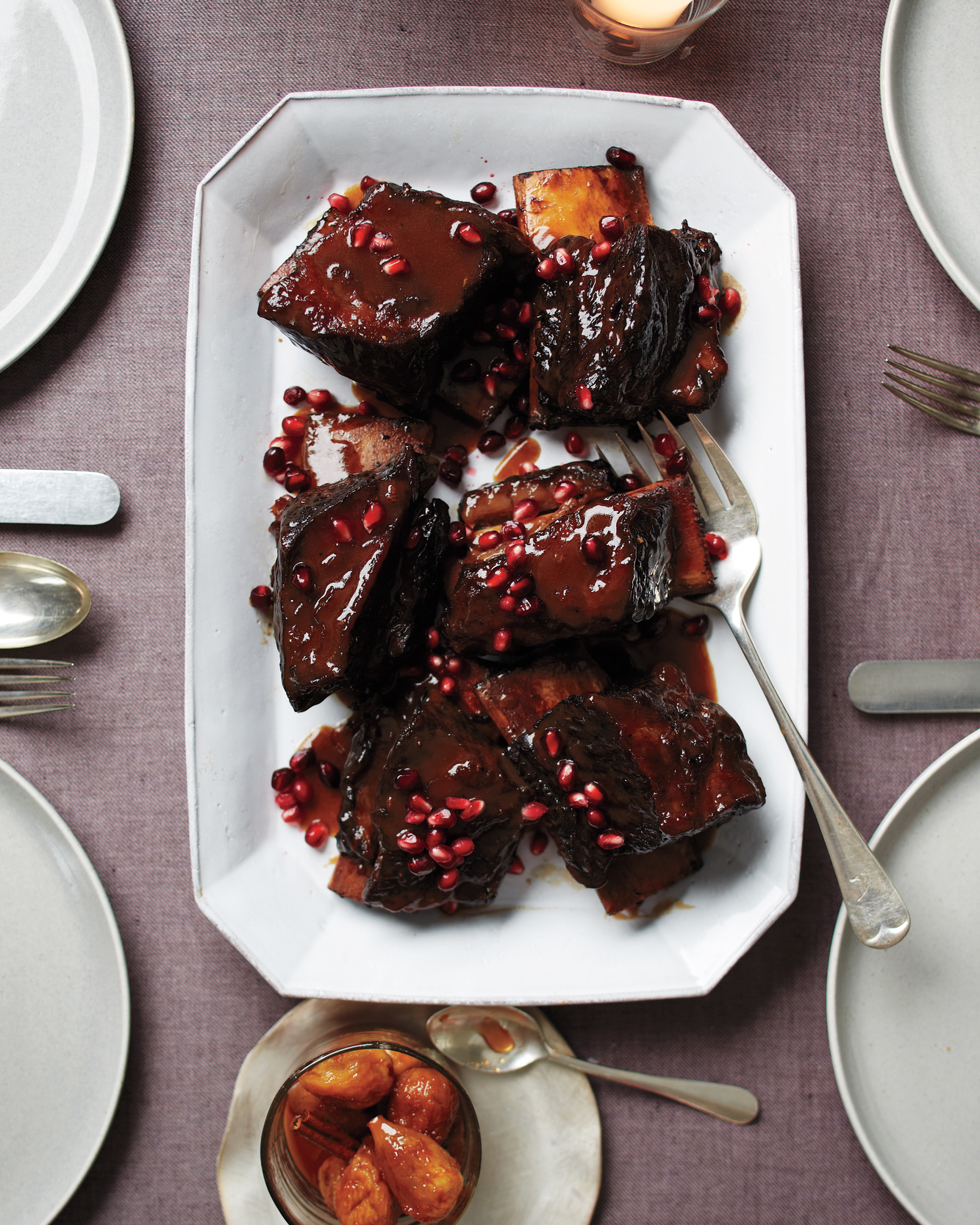 Pomegranate-Braised Short Ribs