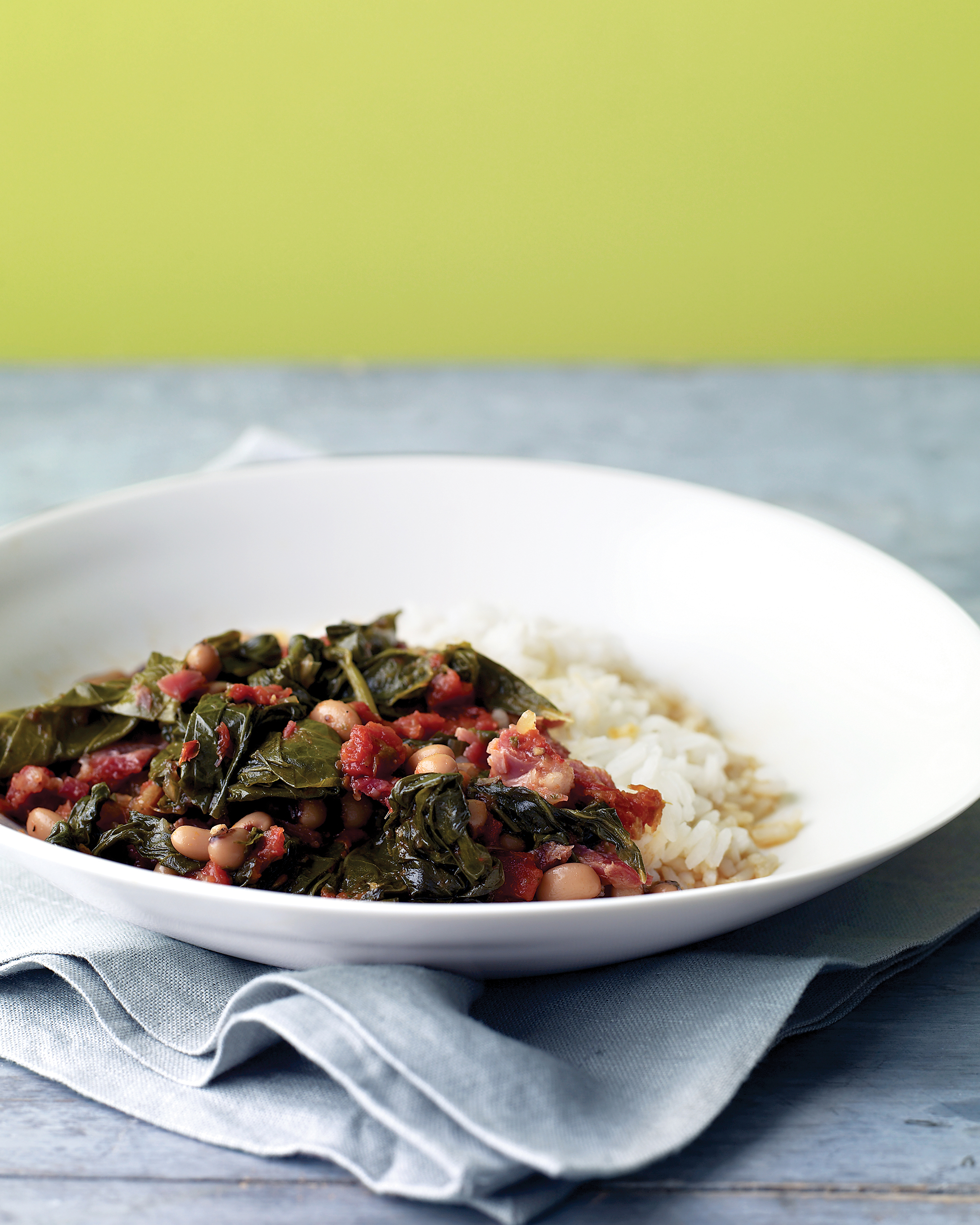 Braised Collards with Tomatoes