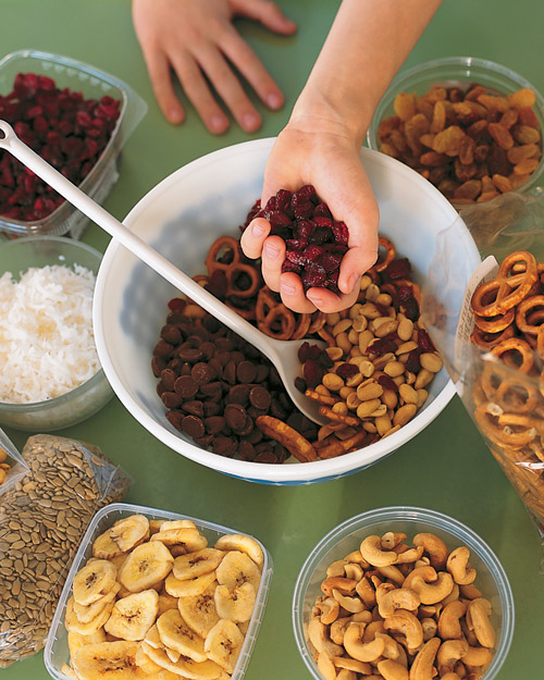 Prepare Trail Mix