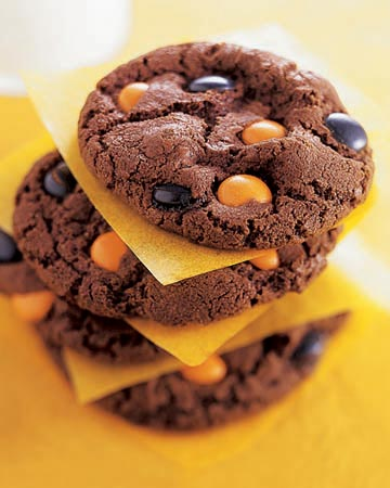 Chocolate-Spot Cookies