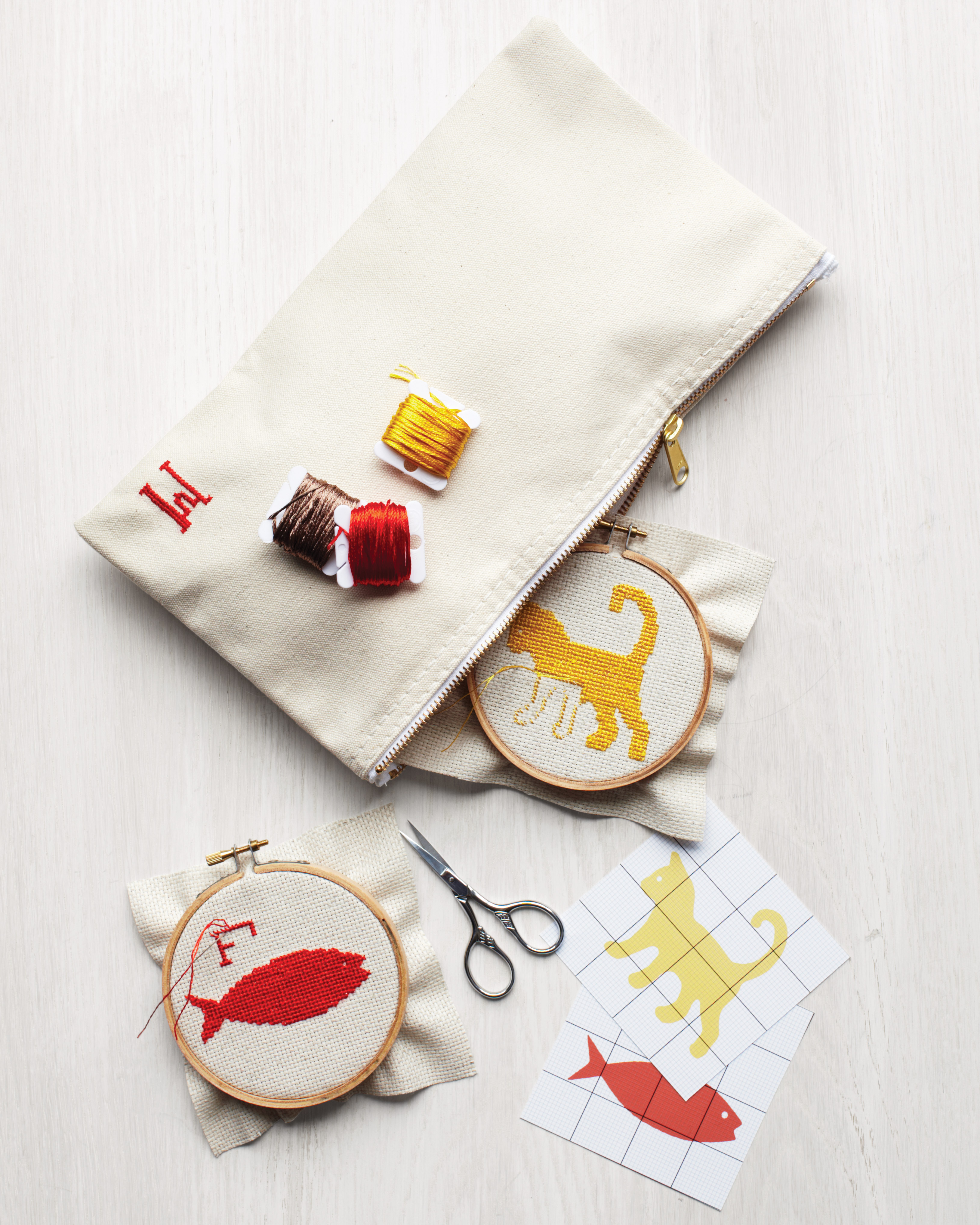 How to Cross Stitch in Embroidery