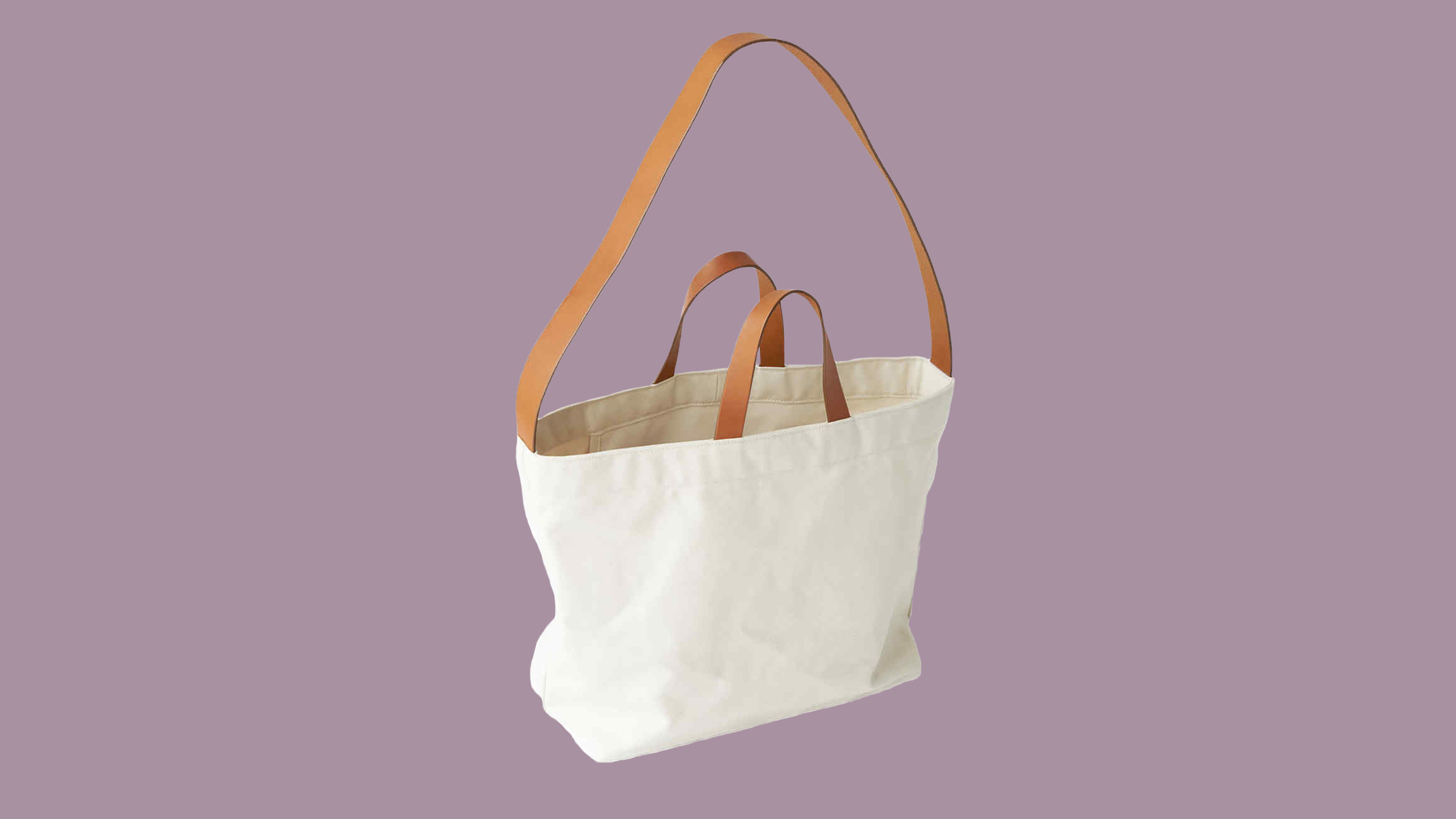 Makr canvas tote bag with straps