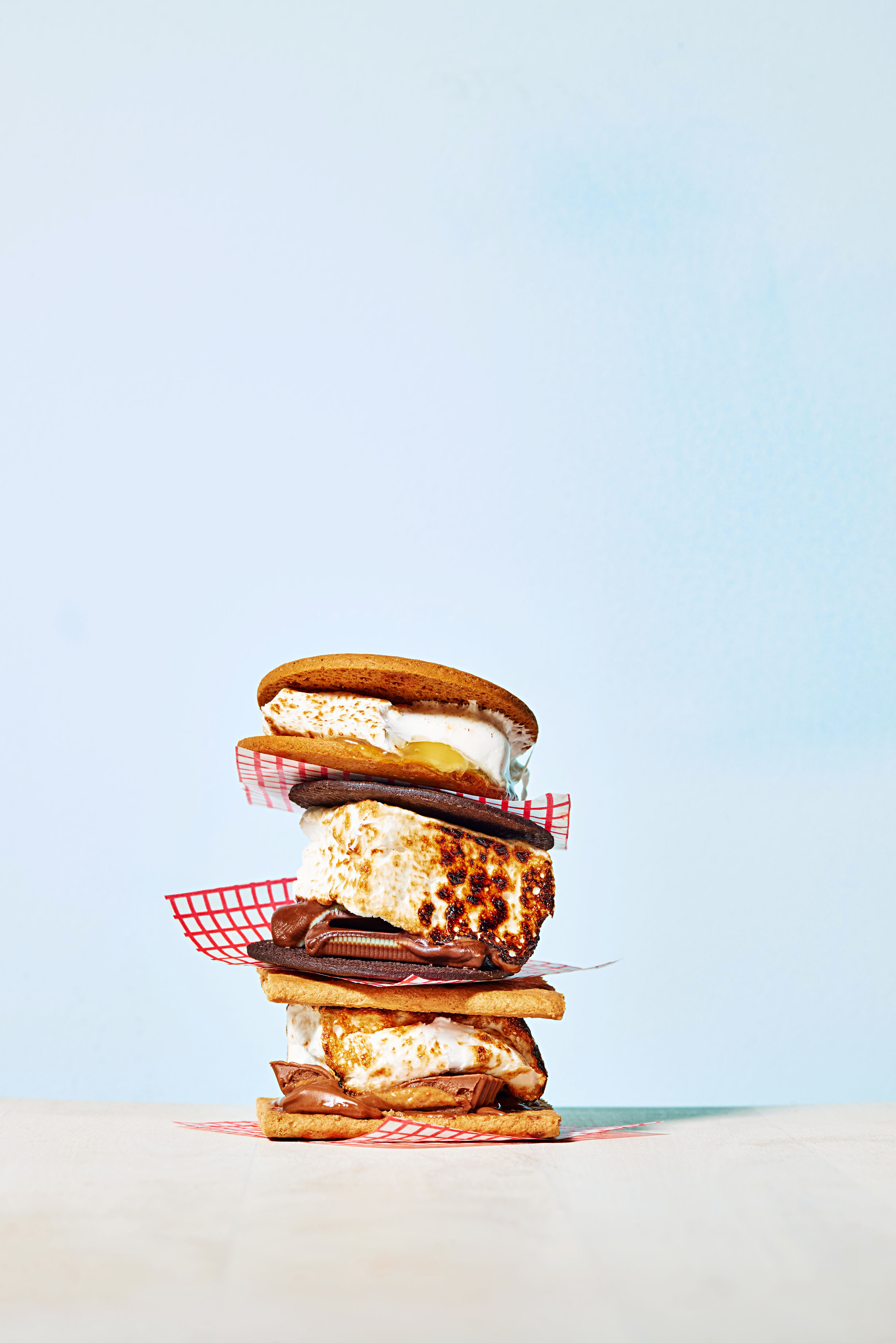 stacked smores