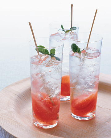 Grapefruit and Mint Mojito