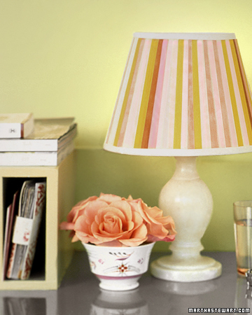 Seam-Binding Lampshade