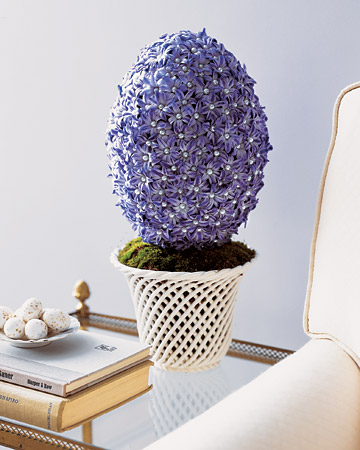 Egg-Shaped Hyacinth Arrangement
