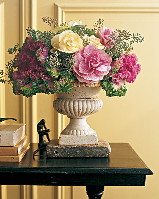 Ornamental Cabbage Arrangement