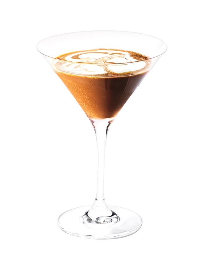 Vodka-Mocha Cocktail