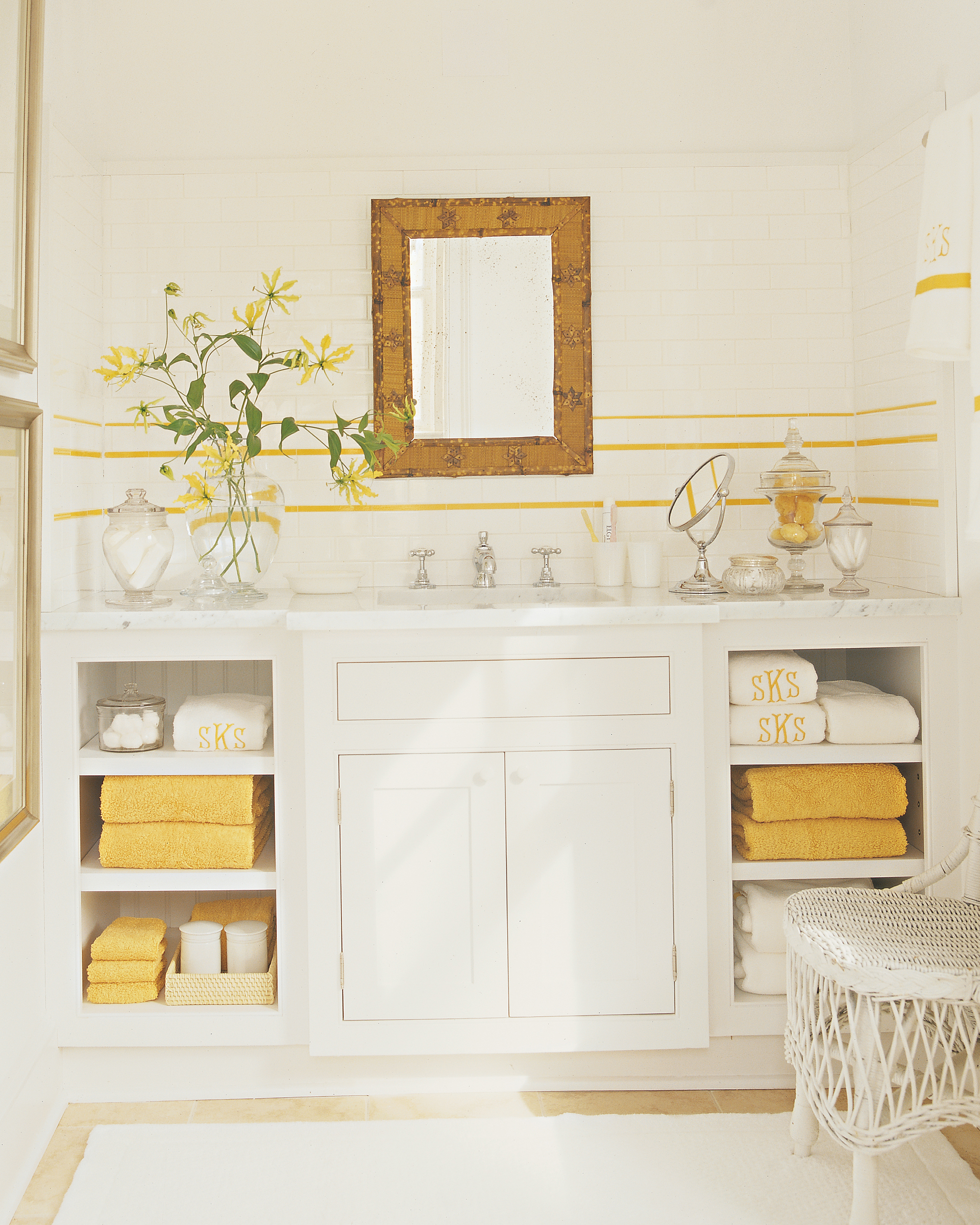 The Bathroom: Keep Linens in a Separate Storage Area