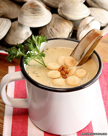 Sarge's New England Clam Chowder