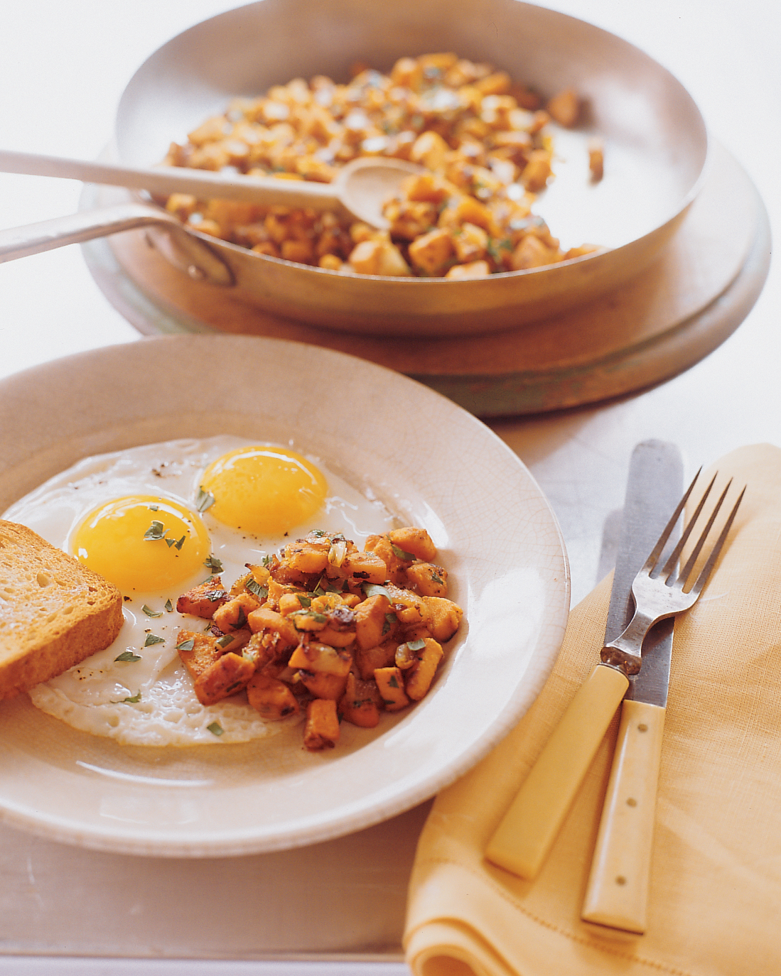 Sweet-Potato Hash Browns