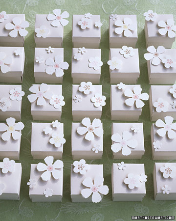 Blossom Favor Boxes