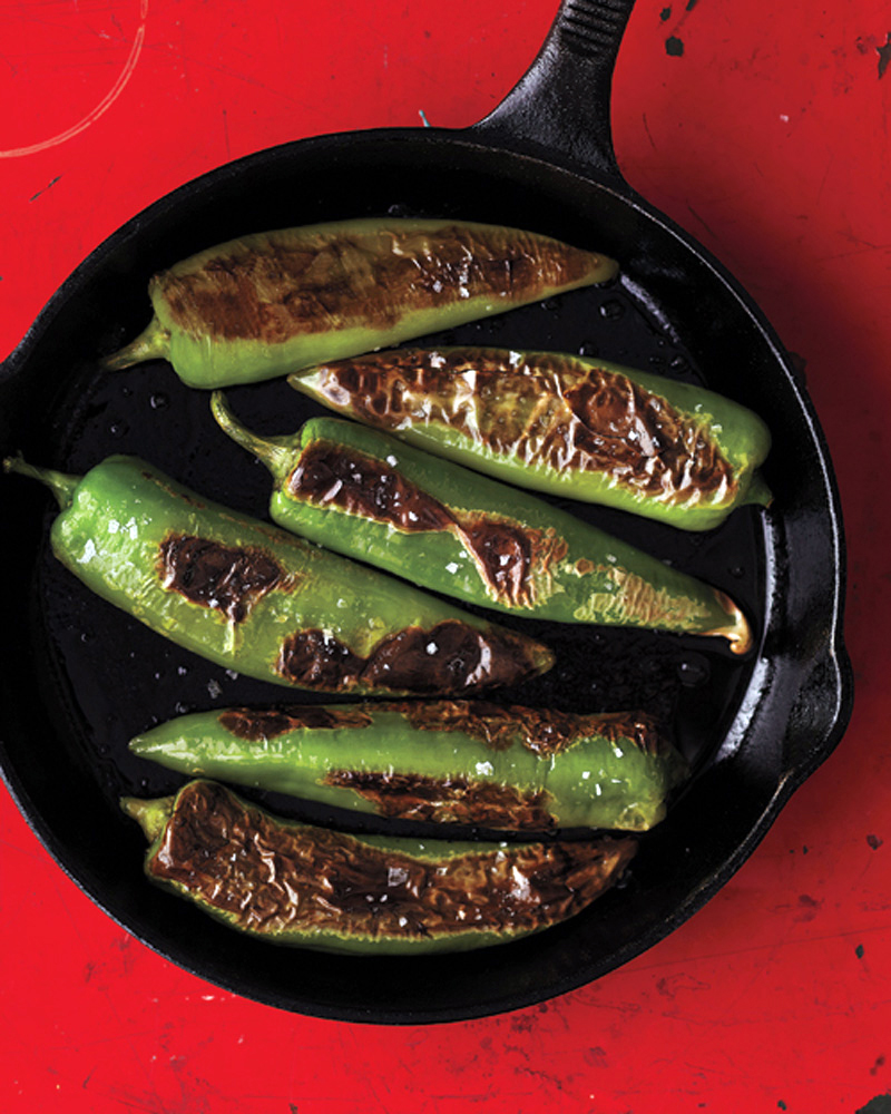 Seared Mild Chiles