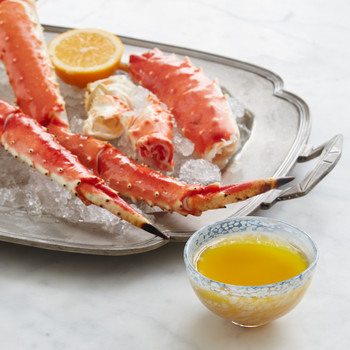 King Crab Legs with Miso Butter