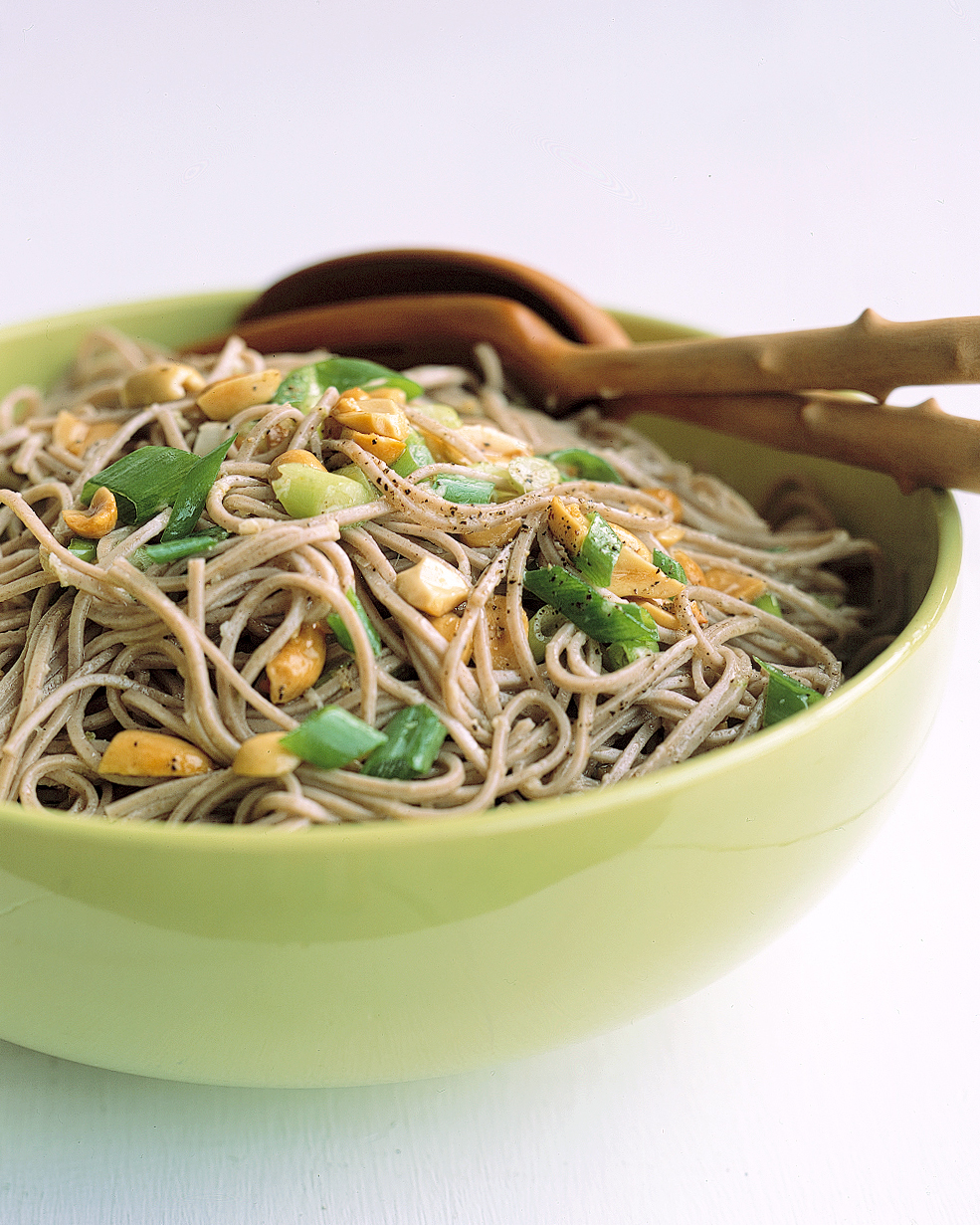Ginger-Peanut Somen Noodles