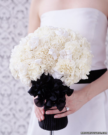 White Carnation Bouquet