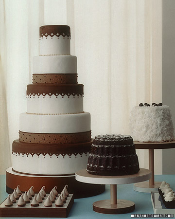 Chocolate and Cream Cakes