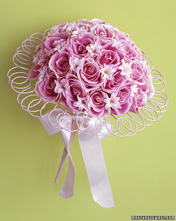Bouquet With Graceful Coils
