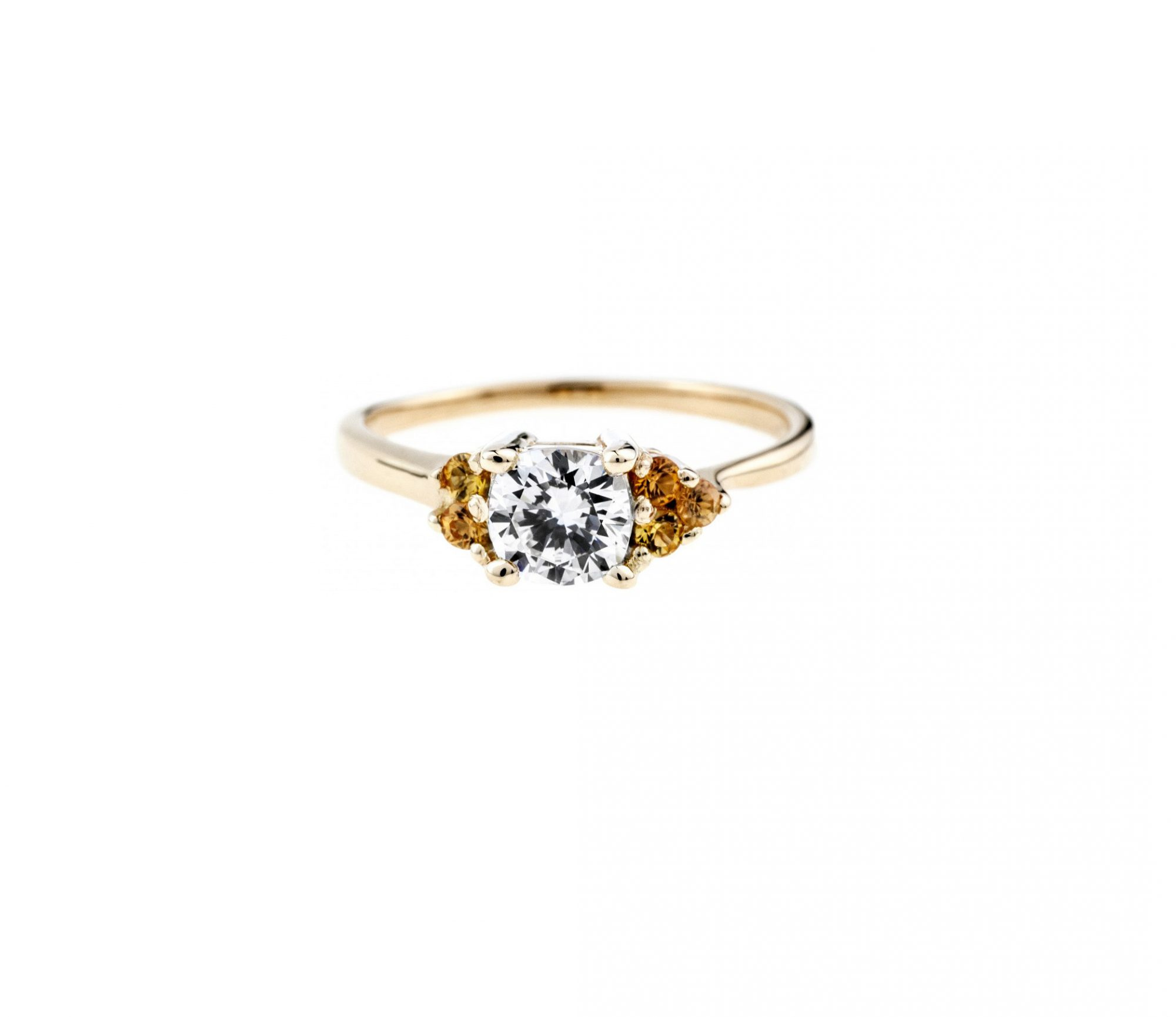 bario neal avens asymmetrical cushion cut engagement ring
