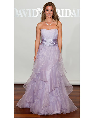 Long Lavender Dress