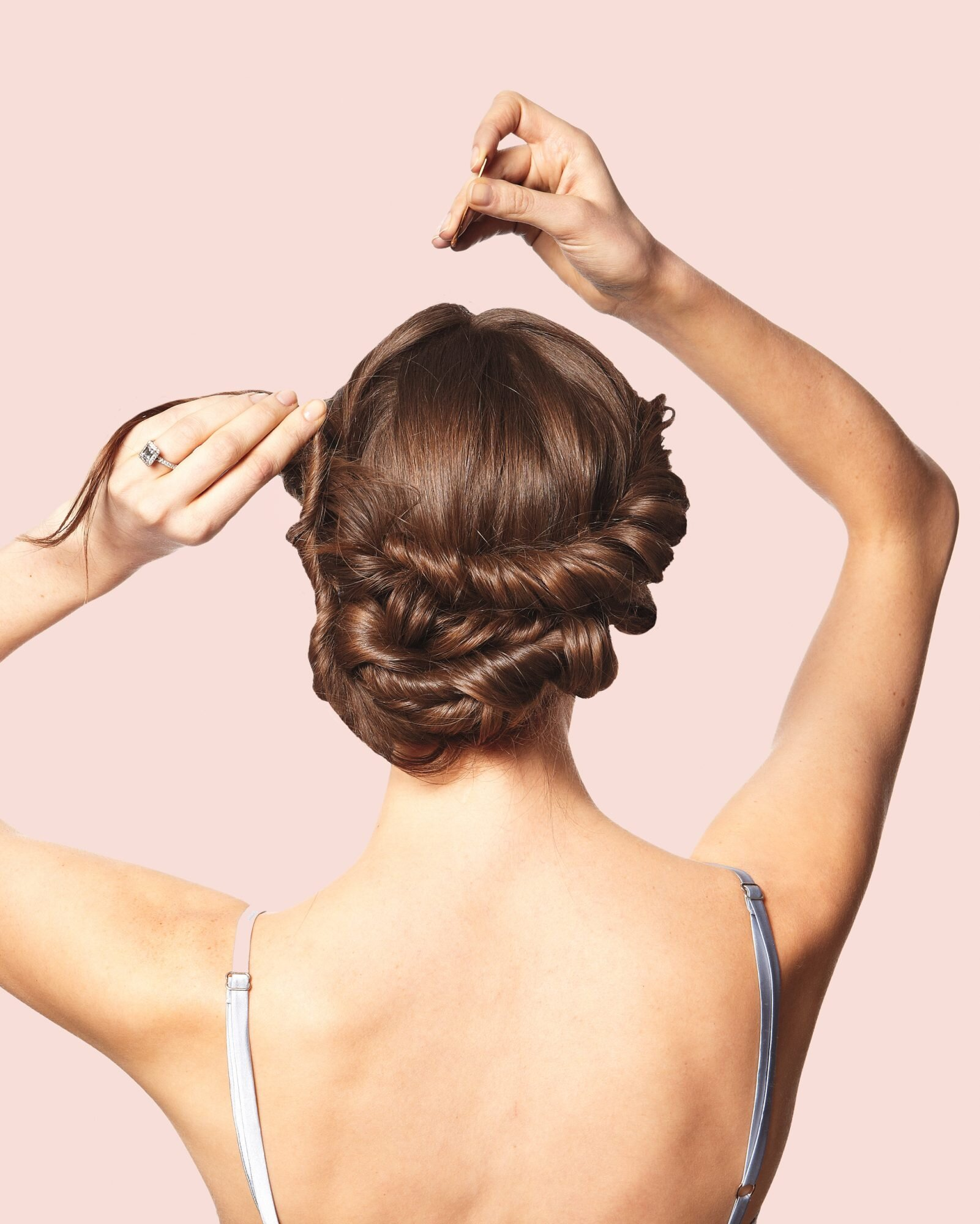 Diy Wedding Updos Martha Stewart