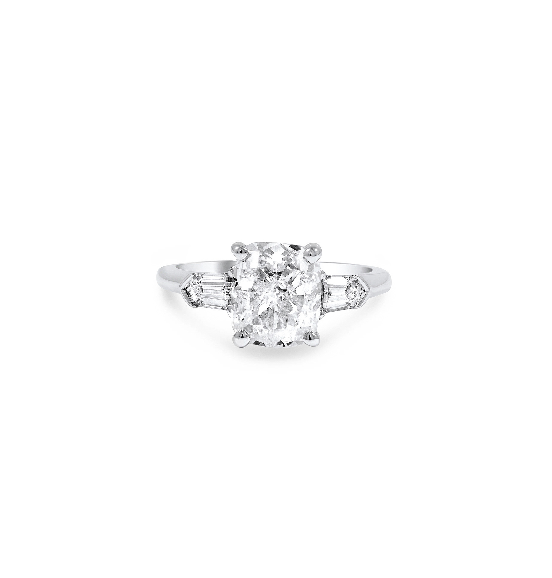 brilliant earth cushion cut diamond beloved ring