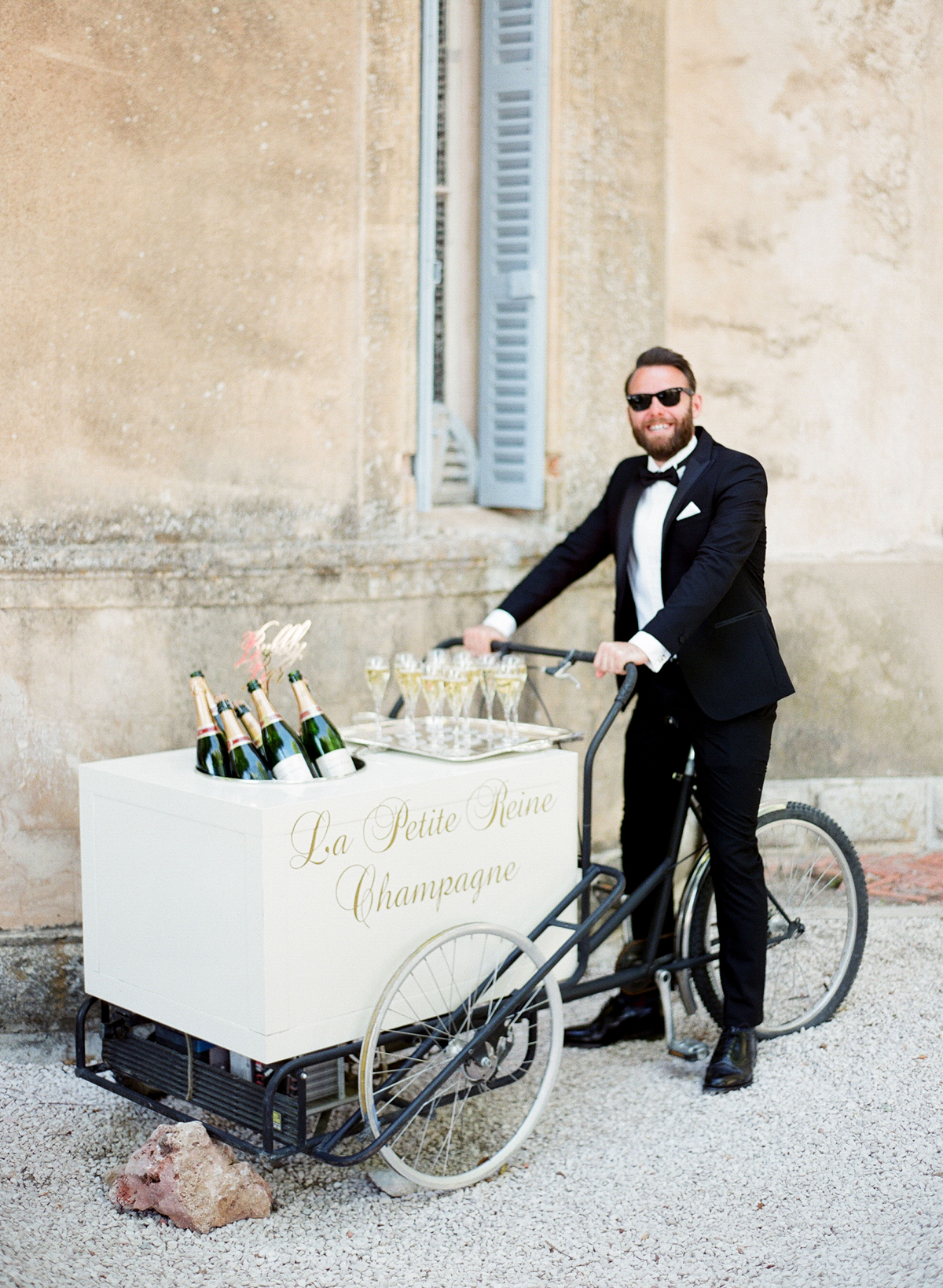 Bicycle Champagne Cart
