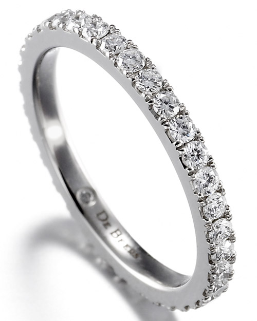 Micropave Wedding Band